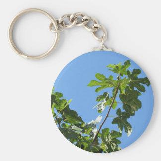 Feigen auf Baumasten Schlüsselanhänger