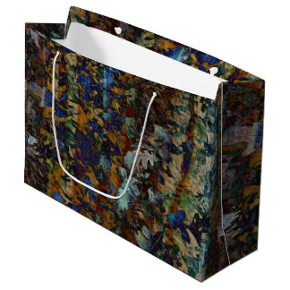 Feine Kunst verlässt große Geschenk-Tasche Große Geschenktüte