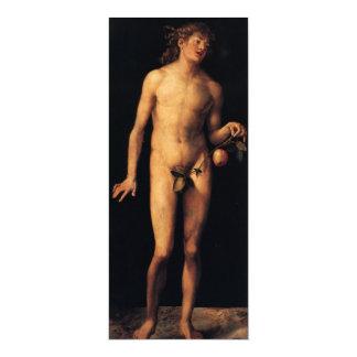 Feine religiöse Kunst - Adam 10,2 X 23,5 Cm Einladungskarte