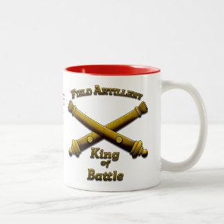 Feld-Artillerie - König des Kampfes - Zweifarbige Tasse