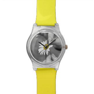 Feld-Blume Armbanduhr