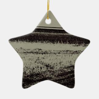 Feld in s/w keramik ornament
