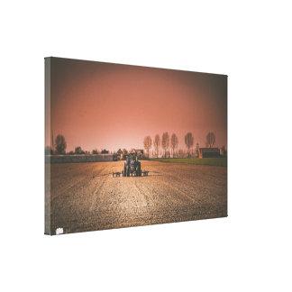 Feld-LandschaftsSingle-Leinwand Leinwanddruck
