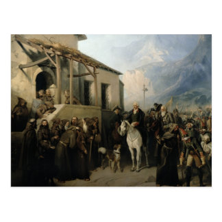 Feld-Marschall Alexander Suvorov Postkarte