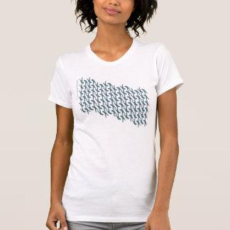 Feldenrais stehendes ATM-Shirt   stehend auf T-Shirt