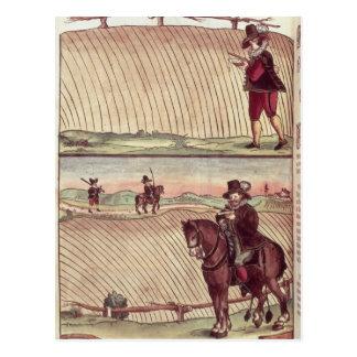 Feldmesser, c.1590 postkarten