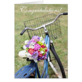 Félicitations ! Carte de mariage