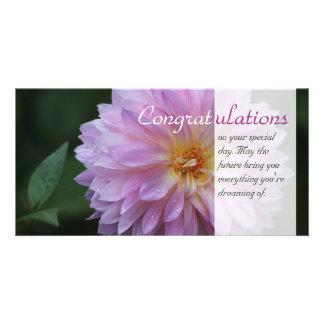 Félicitations votre jour spécial CC0769 Modèle Pour Photocarte