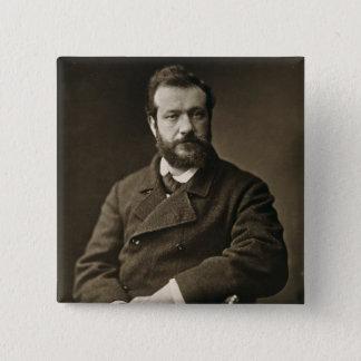 Felix Bracquemond (1833-1914), von 'Galerie Conte Quadratischer Button 5,1 Cm