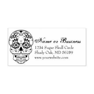 Feliz Muertos kundenspezifischer Adressen-Selbst, Permastempel