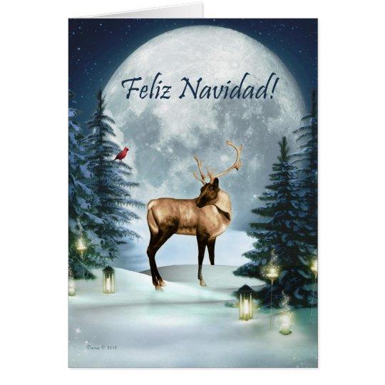 Feliz Navidad - spanische Grußkarte