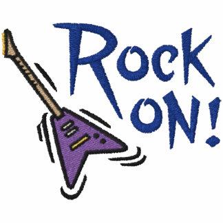 Felsen auf Gitarre