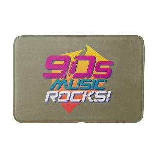 Felsen der Musik-90s! (Licht) Badematte