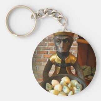 Felsen-Geschäfts-Affe Schlüsselanhänger