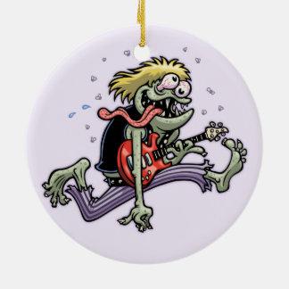 Felsen-Monster Keramik Ornament