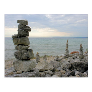 Felsen-Monumente von Mackinac Insel, MI - Postkarte