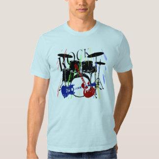 Felsen-T - Shirtblau T-shirt