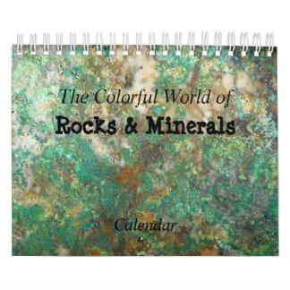 Felsen u. Mineral-Foto Abreißkalender