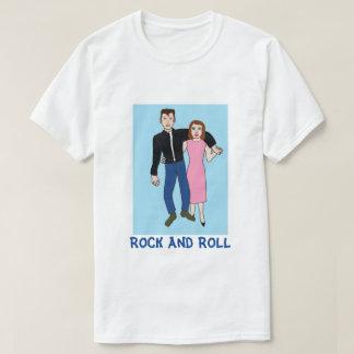 Felsen- u. RollenPartypaare T-Shirt