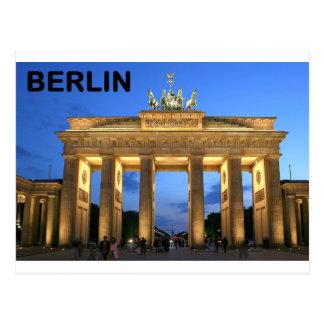 Felsenabbrüche Deutschlands Berlin Brandenburger Postkarte
