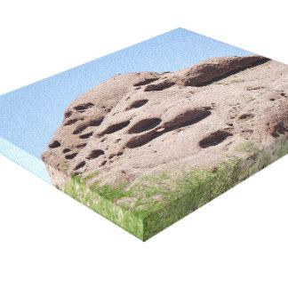 Felsformation-Berg Phoenix Arizona Leinwanddruck