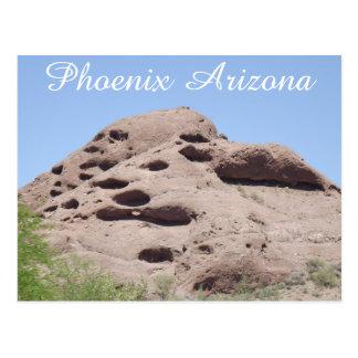 Felsformation-Berg Phoenix Arizona Postkarte