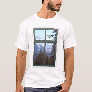 Felsige GebirgsImitat-Fenster-Ansicht Kanadas T-Shirt