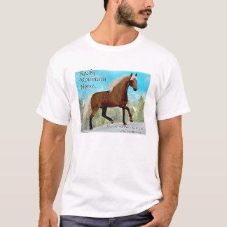 Felsiger BergGaited Pferd T-Shirt