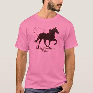 Felsiger Gebirgspferdeherzen T-Shirt