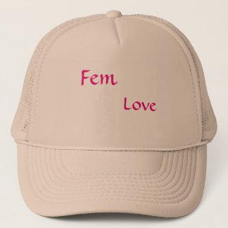 Fem-Liebe, die Ihnen weibliche Mode gibt Truckerkappe