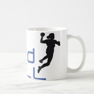 female handball kaffeetasse