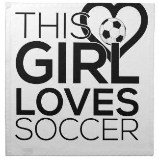 female_soccer stoffserviette
