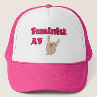 Feministischer AF, Fernlastfahrerhut Truckerkappe