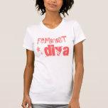 FEMINISTISCHES DIVAt-stück Hemd