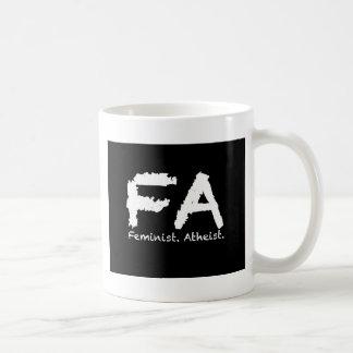 Feminst. Atheist Kaffeetasse