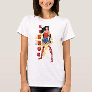 Femme de merveille avec l'épée - féroce t-shirt