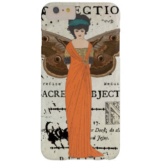 Femme Fatale Winged Frauen-orange Kleid Barely There iPhone 6 Plus Hülle