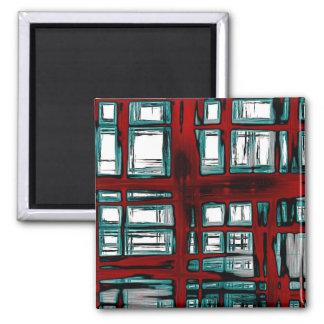 Fenster Quadratischer Magnet
