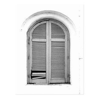 Fenster Postkarte
