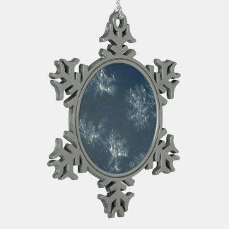 Fenster-Schneeflocken Schneeflocken Zinn-Ornament