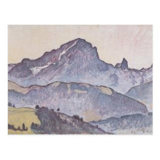Ferdinand Hodler- From Le Grand Muveran Villars Postkarte