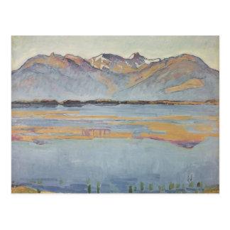 Ferdinand Hodler- Montanasee Postkarte