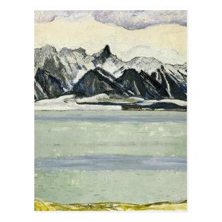 Ferdinand Hodler: See Thun mit Stockhornkette Postkarte