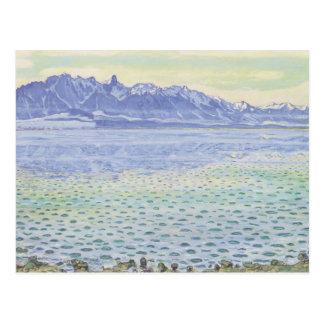 Ferdinand Hodler- Thun, Stockhornkette Postkarte