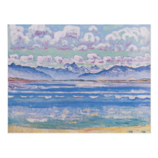 Ferdinand Hodler- Weisshorn von Montana Postkarte