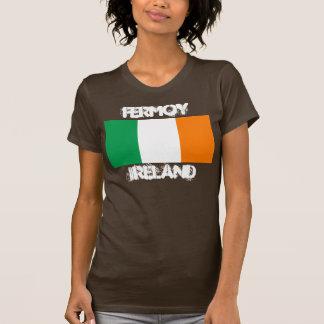 Fermoy, Irland mit irischer Flagge T-Shirt