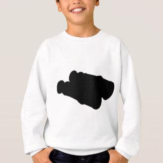 Fernglas-Kontur-Silhouette Sweatshirt