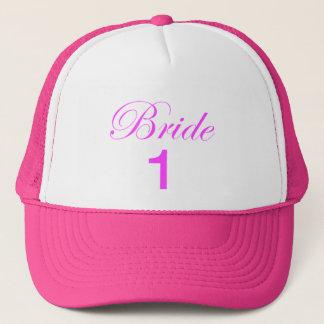 Fernlastfahrer-Hut der Braut-1 Truckerkappe