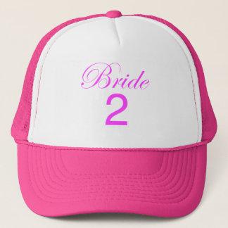 Fernlastfahrer-Hut der Braut-2 Truckerkappe