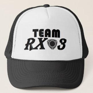 Fernlastfahrer-Hut des Team-Rx3 Truckerkappe